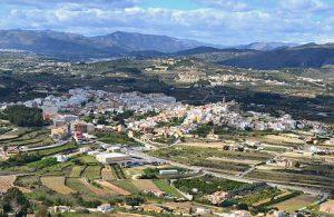 vue aérienne de El Poble Nou de Benitatxel