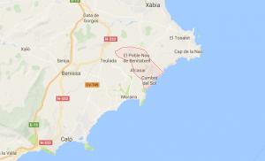 Localisation de Benitachell