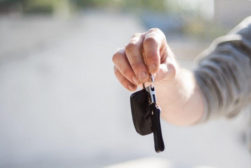 représentation de clés d'une voiture immatriculée en Espagne