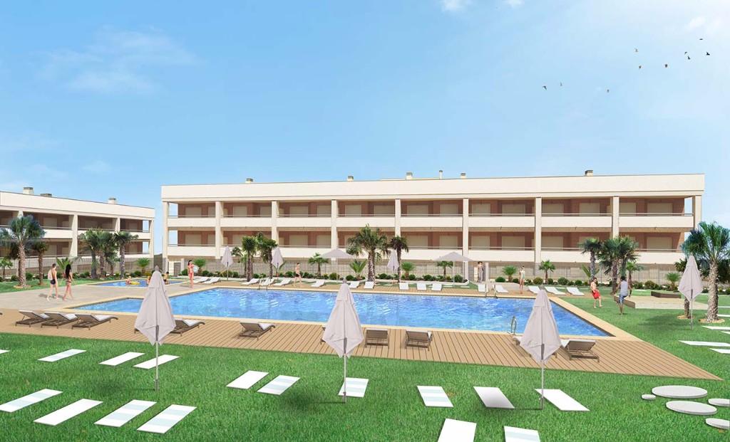 Joli appartement à Santa Pola dans la région d'Alicante