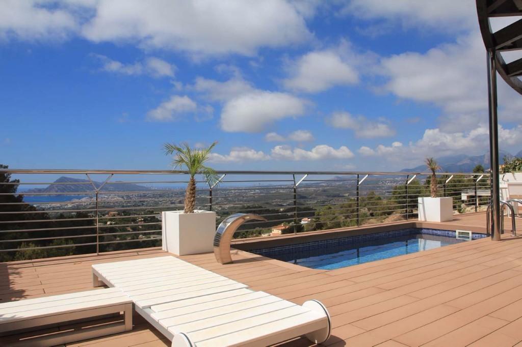 villa à Altea avec vue mer dans la région d'Alicante