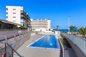 Résidence privée d'appartements en première ligne de plage à Arenales del Sol – Santa Pola