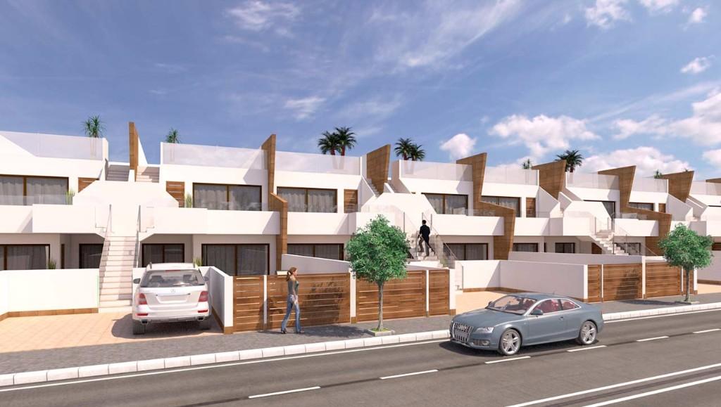 Bungalow moderne à San Pedro del Pinatar en Espagne
