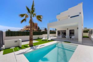 villa de luxe avec piscine à la Marina, sud Alicante