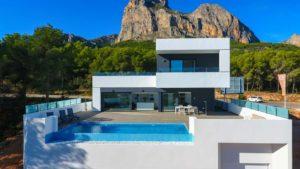 Villa à Polop de la Marina dans la région d'Alicante