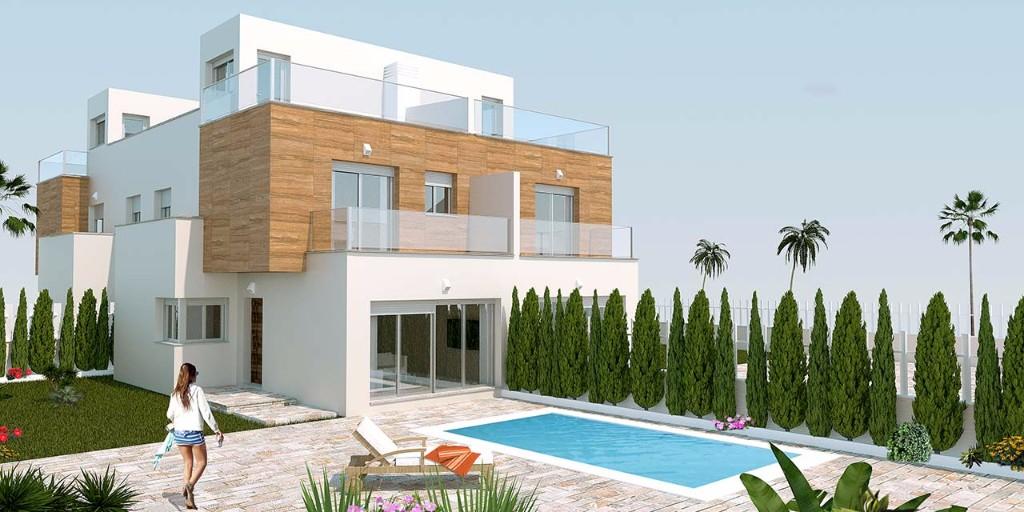 Villa avec piscine à San Pedro del Pinatar