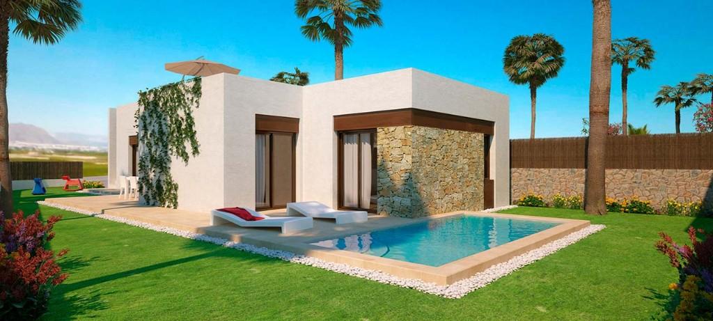 villa au golf à vendre en Espagne