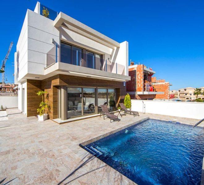 Villa avec piscine et solarium à Villamartin