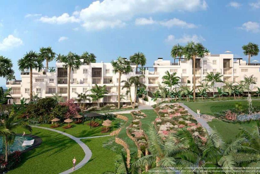 Appartements à Punta Prima avec extraordinaires zones vertes