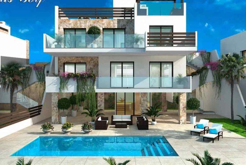 Maison sur 4 niveaux à vendre à Ciudad Quesada