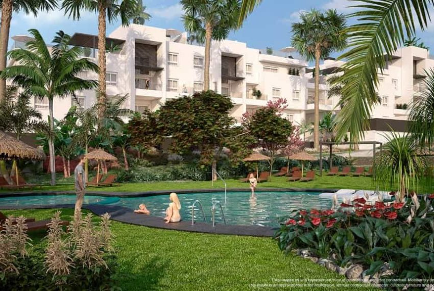 Appartement bien situé à Punta Prima