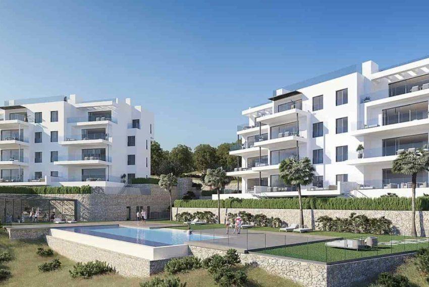 Elegant appartement à vendre au golf Las Colinas