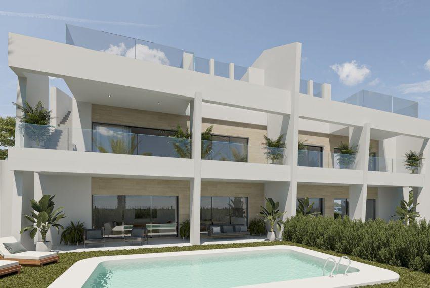 Appartements en première ligne de golf à Oliva Nova Golf Resort
