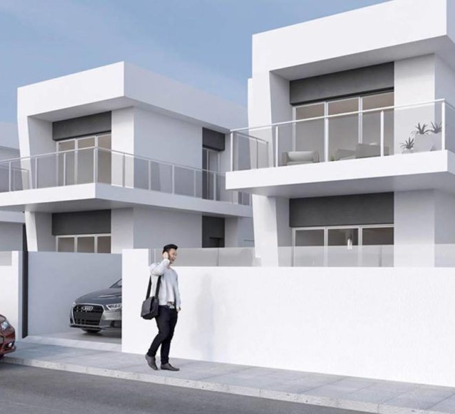 Maison à Costa Blanca - Daya Vieja, sur 2 étages avec solarium et piscine privée