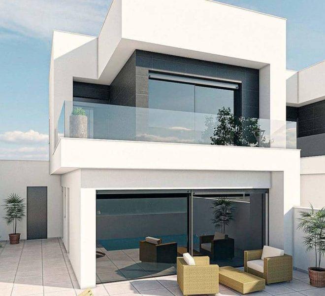 Maison à Costa Calida, nouvelle construction à San Pedro del Pinatar
