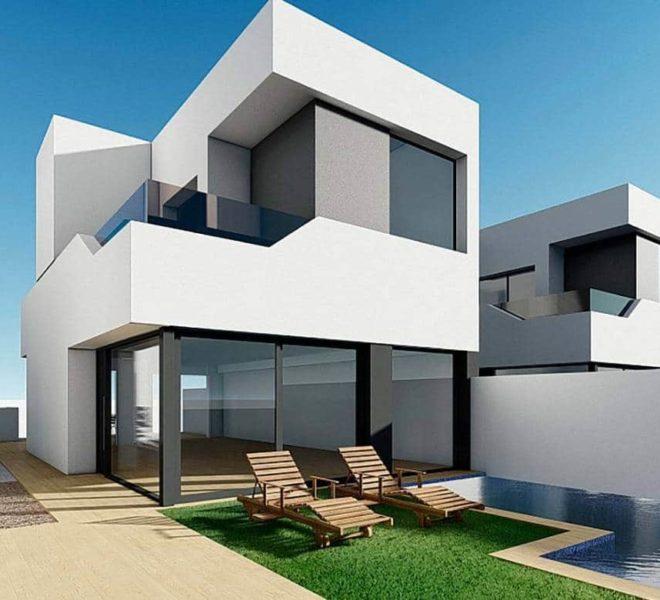 Maison à vendre à Ciudad Quesada à 500 mètres du golf La Marquesa