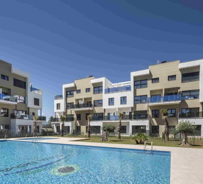 Complexe d'appartements avec piscine communale à Oliva Nova Golf Resort