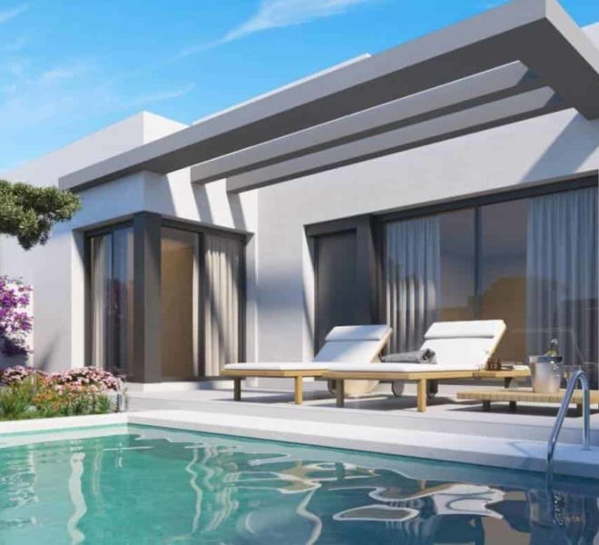 Maison neuve moderne à 450 mètres de Vistabella Golf, Los Montesinos