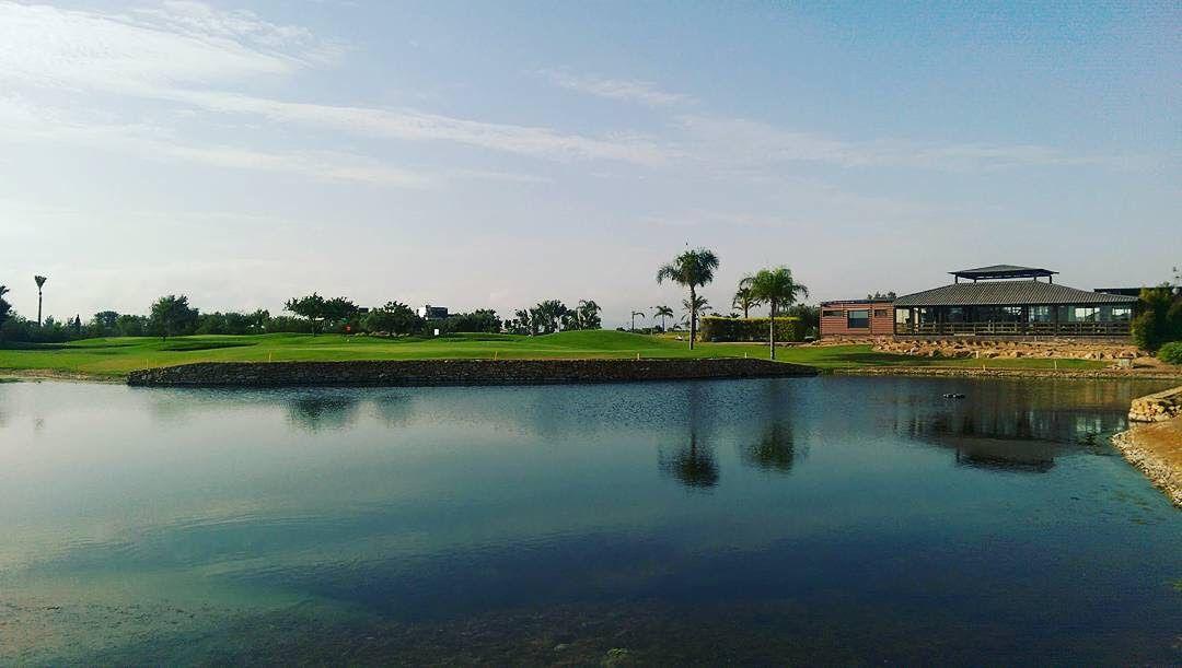 Roda Golf, 18ème green & gym